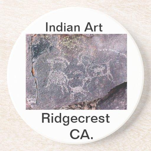 Indian Art Beverage Coasters