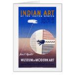Indian Art In America 1936 WPA Card