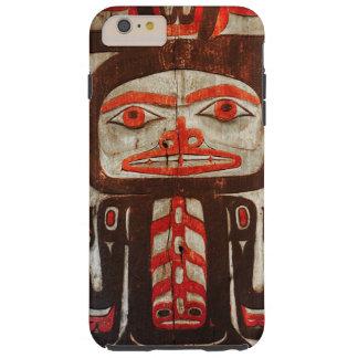 Indian art indigenous man tough iPhone 6 plus case