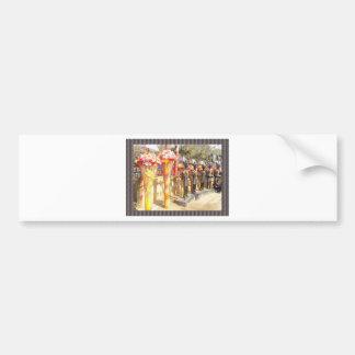 Indian art n crafts show surajkund mela newdelhi bumper sticker