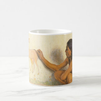 Indian Artist by Couse, Vintage Native American Classic White Coffee Mug