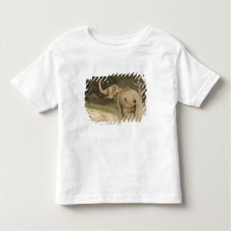 Indian / Asian Elephant communicating,Corbett Toddler T-shirt