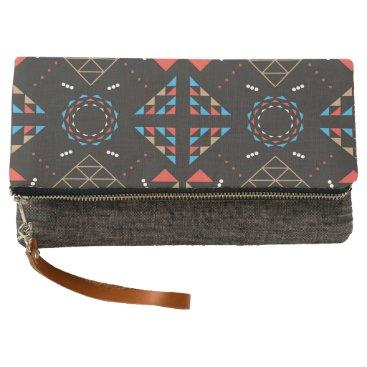 Aztec Themed Indian Aztec Design Wallet