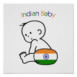 Indian Baby Poster