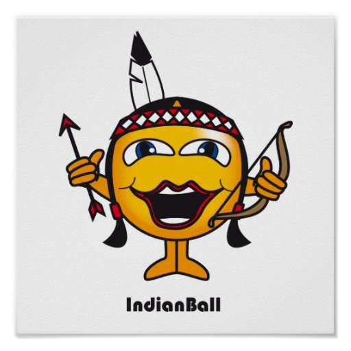 Indian Ball Poster