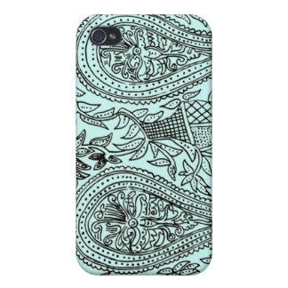 Indian Batik pattern iPhone cover case iPhone 4 Case