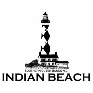 Indian Beach. Cutout