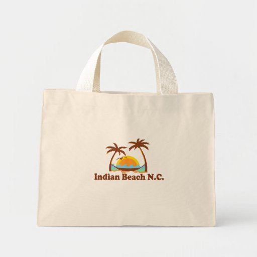 Indian Beach. Mini Tote Bag
