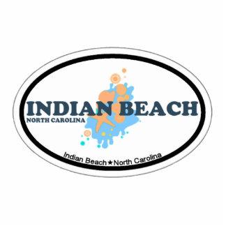 Indian Beach. Photo Sculpture Magnet