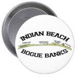 Indian Beach. Pinback Buttons