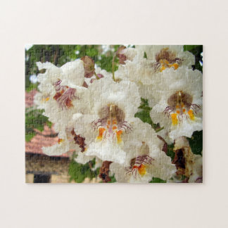 Indian Bean Tree Flowers Photo Puzzle and Gift Box