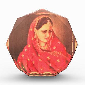 Indian beauty bride girl female woman goddess gift acrylic award