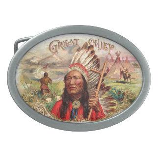 Indian Belt Buckle
