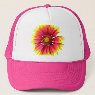 Indian Blanket Flower Trucker Hat