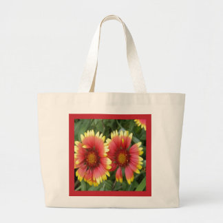 INDIAN BLANKET GAILLARDIA Eco-Friendly Tote