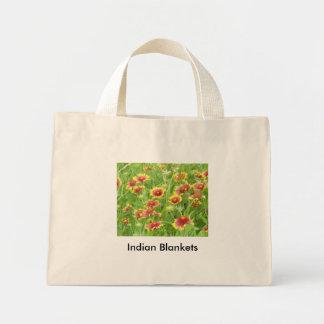 Indian Blankets Mini Tote Bag