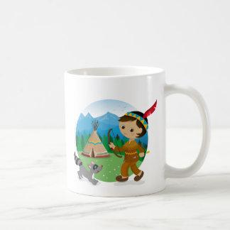 Indian boy coffee mug