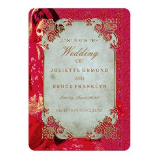Indian Bride ~ Wedding Invitation