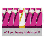 Indian Bridesmaid card