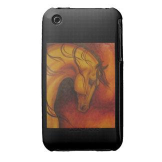 Indian Buckskin Horse iPhone 3 Cases