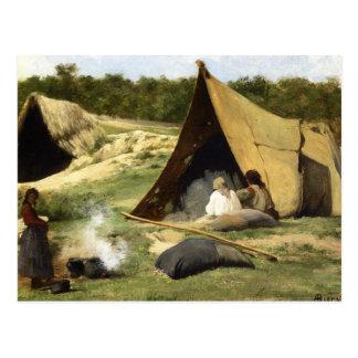 Indian Camp Postcard