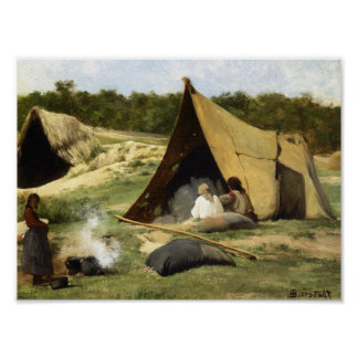 Indian Camp Poster