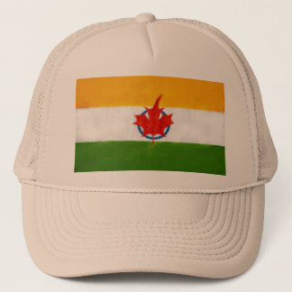 INDIAN CANADIAN FUSION TRUCKER HAT