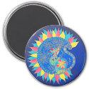 Indian cat magnet