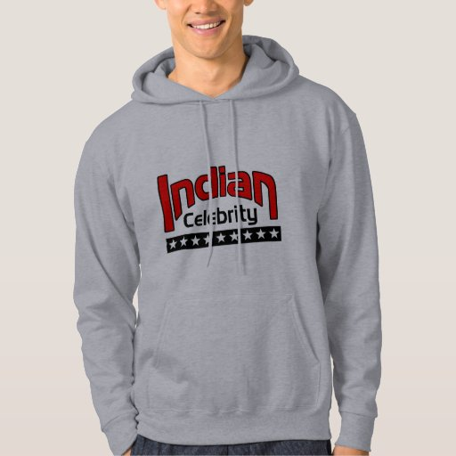 Indian Celebrity Hooded Pullover