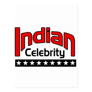 Indian Celebrity Postcard