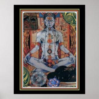 Indian Chakra 16 x 20 Poster