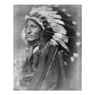 INDIAN CHIEF  1902 POSTER