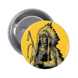 Indian Chief Button
