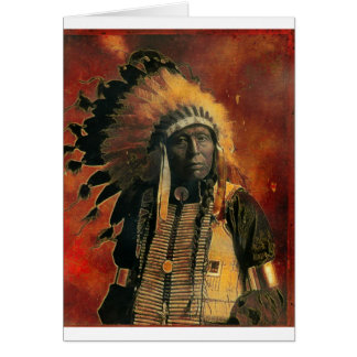 Indian_Chief Greeting Card
