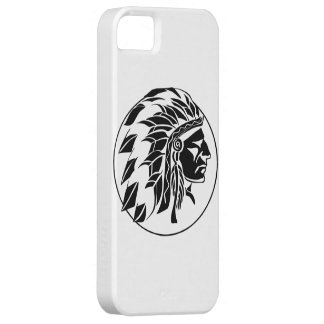 Indian Chief Head iPhone SE/5/5s Case
