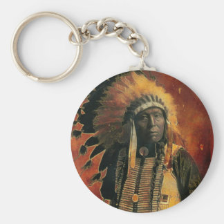 Indian_Chief Key Chain