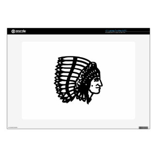 Indian Chief Laptop Decal