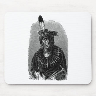Indian Chief Mouse Pad
