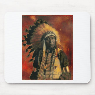 Indian_Chief Mouse Pad