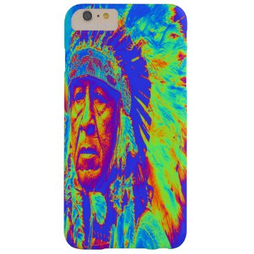 Indian Chief Pop Art Barely There iPhone 6 Plus Case