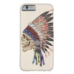 Indian Chief Skull iPhone 6 case