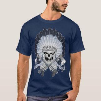 Indian Chief Skull T-Shirt