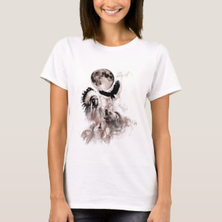 Indian Chief - Wolf - Moon - Bear - Eagle T-Shirt