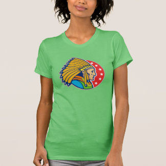 Indian Chief Womens T-Shirt