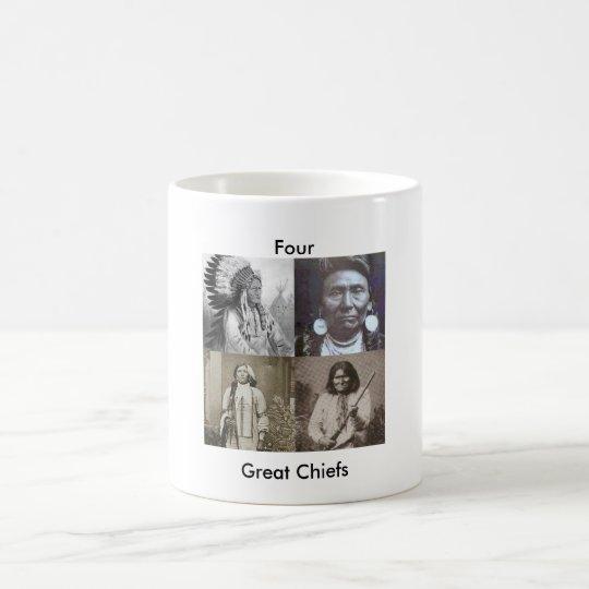 Indian Chiefs Coffee Mug
