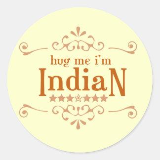 Indian Classic Round Sticker