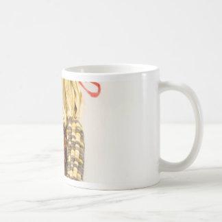 Indian Colourised Corn On White Background Mugs