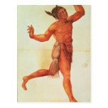 Indian Conjuror Postcard
