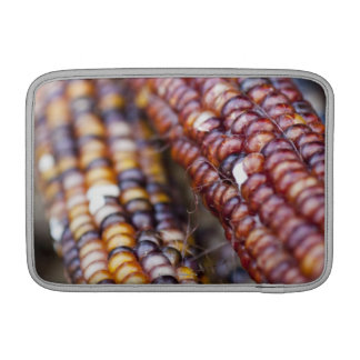 Indian Corn at the Union Square Greenmarket, New Y MacBook Sleeve