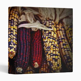 Indian corn 3 ring binders